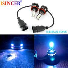 Mini COB Ice Blue H11 H9 LED Headlight Kit 40000LM Beam Bulbs High Power 8000K