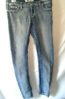 Wet Seal XL Skinny Jeans Low Rise Light Wash Womens