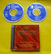 "2 CDs "" ANDREW LLOYD WEBBER - THE GREATEST SONGS "" BEST OF / 30 HITS (MEMORY)"