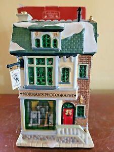 Lemax Normans Photography Caddington Village 2002 Lighted Christmas House