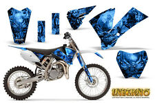 KTM SX85 SX105 2004-2005 GRAPHICS KIT CREATORX DECALS INFERNO BL