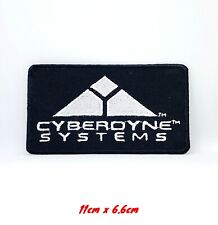 Terminator Cyberdyne Systems Logo Movie PROP Embroidered Patch T-Shirt Badge
