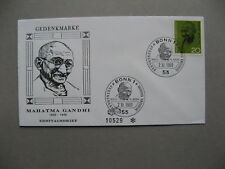 GERMANY BRD, cover FDC 1969, Gandhi