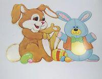Easter Decoration Diecut Bunny Eureka Teddy Bear Eggs Candy