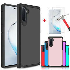 For Samsung Galaxy Note 10+/S9+/S10 Plus Case / HD Full Cover Screen Protector
