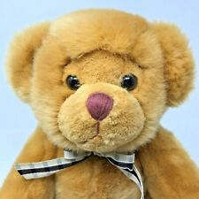 """Russ Berrie Brown Plush Bear Articulated 16"""" Stuffed Animal Toy"""