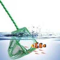Portable Handle Square Framework Aquarium Fish Tank Fishing Landing net Goldfish