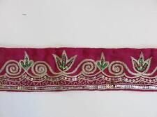 Borte mit Pailletten in verschieden Farben,ca.70mm,lfm,B12.2