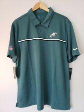 Nike NFL Eagles Dri Fit On Field Apparel Size XL Golf Polo Green CI3405-339 NWTs