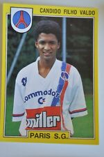 PANINI VIGNETTE STICKERS FOOTBALL FOOT 92 N°213 PSG PARIS CANDIDO FILHO VALDO