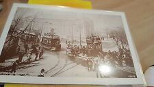 Old Trams Tech Institute Southend laminated photo  ebay uk trams