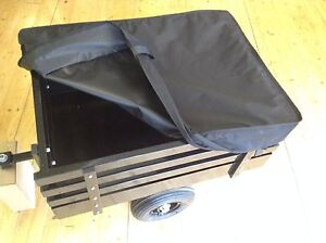 HEAVY DUTY TRAILER COVER FOR MOBILITY SCOOTER BLACK