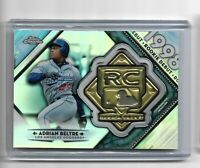 Adrian Beltre los Angeles Dodgers 2018 Topps chrome Rookie Debut Medallion Card