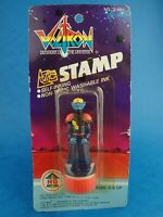 "Vintage HG Toys VOLTRON - STAMP King Zarkon Unopened Approx 3"" Toy Carded 1984"