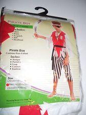 PIRATE BOY FANCY DRESS COSTUME PAMS AGED 4 - 5  YEARS SMALL 9747