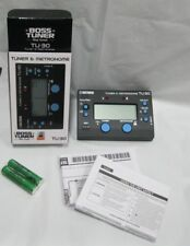 guitar tuner boss tuner tu-30 tuner and metronome boss   guitar bass tuner