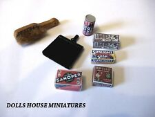 VINTAGE STYLE  CLEANING  PRODUCTS DOLLS HOUSE ITEMS