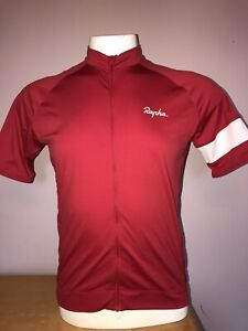 Mens RAPHA MAROON CYCLING JERSEY excellent quality XL