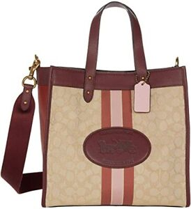 COACH Signature Horse and Carriage Field Tote
