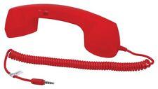 Satzuma Cornetta Auricolare per Telefono Cellulare, Rosso (O4R)