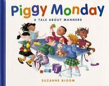 Piggy Monday: A Tale about Manners (Concept Books (Albert Whitman))-ExLibrary