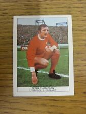 1970 Trade Card: Footballers) Liverpool - Peter Thompson [Naisco Foods LTD Card