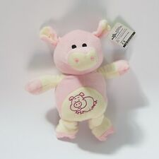 """Toy Factory Cow And Pig Pink Plush Doll 8.5"""" Inch - FREE 3 DAY S&H"""