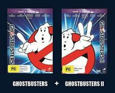 GHOSTBUSTERS I & II Bill Murray, Dan Aykroyd 2DVD NEW