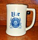 1986 MILLER LITE Beer  MLB  LARRY HISLE Celebrity Bowling Tournament Mug
