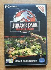 Jurassic Park Operation Genesis, PC CD-ROM.