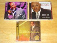 BISHOP PAUL MORTON (3) THREE CD LOT LET IT RAIN ON BROKEN PIECES STILL STANDING