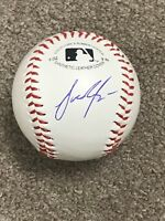 JAKE JUNIS Hand Signed Autographed Baseball Kansas City Royals **COA-LIA