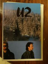 U2 Magazine #15 Summer 85 w/ Unforgettable Fire promo pic & U2 button Vg+