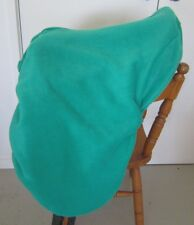 Horse Stock / Western / Swinging Saddle cover FREE EMBROIDERY Classic JADE GREEN