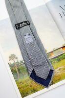 HERMES Silk 100% Soldo striped tie 645695 PA