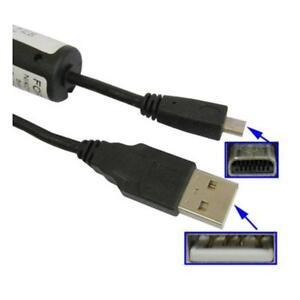 USB Data Lead Cable For Sony Cybershot DSC-W830 DSC-W810 DSC-W800 Camera PC Sync