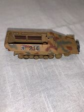1:72 Diecast Unimax Toys Forces of Valor WWII German Hanomag Halftrack