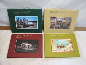 Set 4 Issues Automobile Quarterly Set Book Vol 23 1-4 1985 Auto Cars