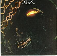 "YELLO vicious games U.K. ELEKTRA 7""_1985 picture sleeve  EKR-1"