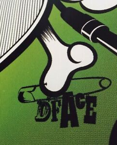 """dface offset lithograph The Automatic Not Accepted Anywhere 2006 rarity 60""""."""