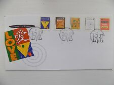 First Day Cover Singapore Love 1995