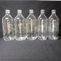 5 Vintage Bicentennial Pepsi Cola Glass Bottles