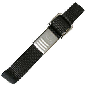 """T-H Marine 42"""" Battery Strap w/ Stainless Steel Buckle  BS-1-42SS-DP"""