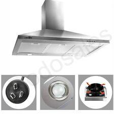 Rangehood Stainless Steel 900mm Range Hood Commercial Home Kitchen Canopy 90cm