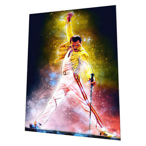 """Queen with """"Bohemian Rhapsody"""" Wall Art - Graphic Art Poster"""