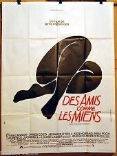 AFFICHE CINEMA Saul BASS 1971 DES AMIS COMME LES MIENS Otto PREMINGER 120x160cm