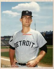 DENNY McLAIN 1960'S DETROIT TIGERS 8X10 REPRINT PHOTO FROM TOPPS NEGATIVE