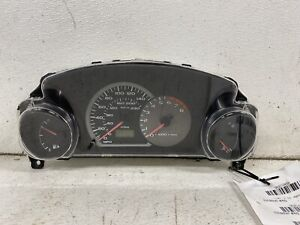 2003-2005 Mitsubishi Eclipse GS & RS 2.4L M/T cluster speedometer tach panel oem