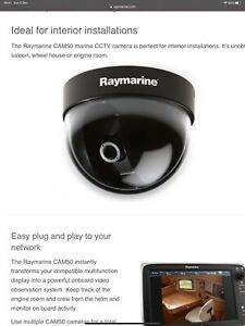 Raymarine CAM50 Colour CCTV Video Camera