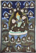 Vintage Tibetan Tangka Thangka painting - Green Tara